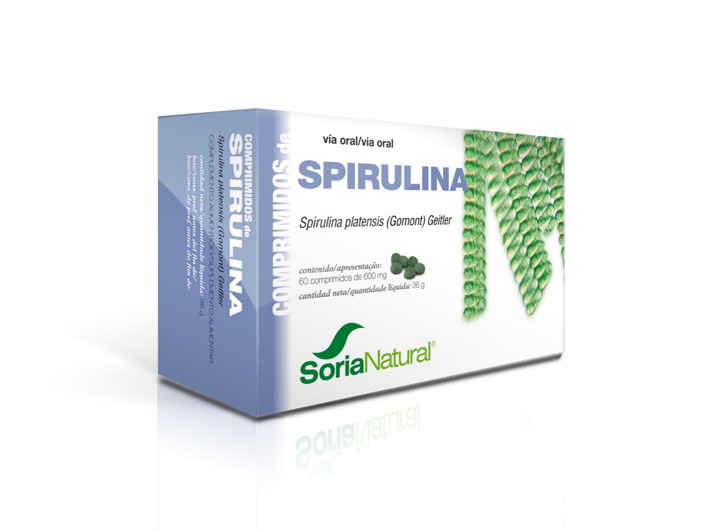 18-S Spirulina maxima: spirulina 400 mg