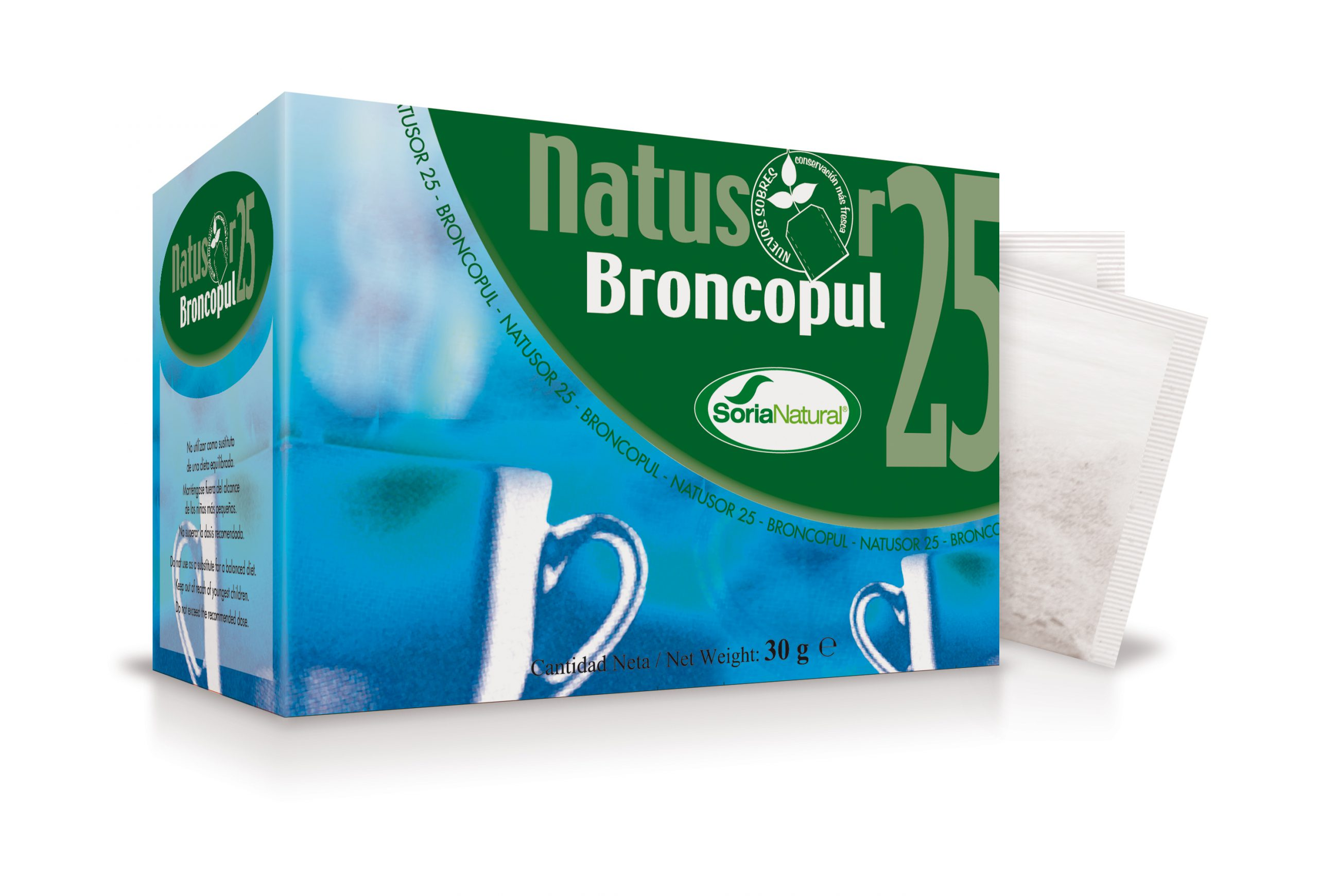 Natusor 25 Broncopul