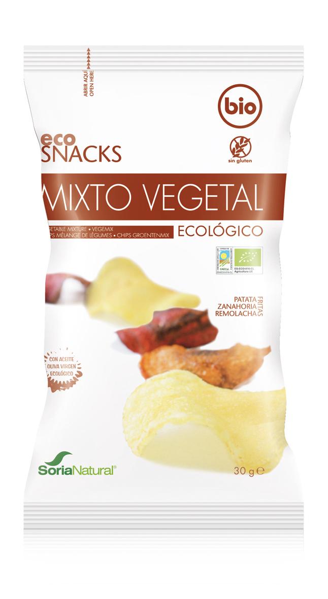Chips groenten mix