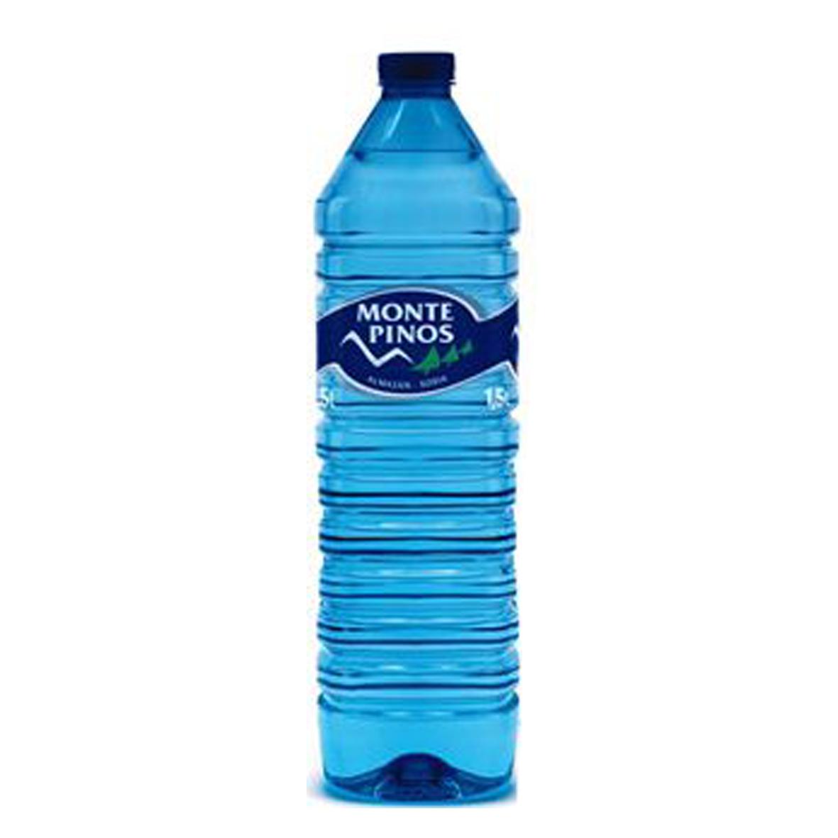 Monte pinos: eau minérale 1,5L