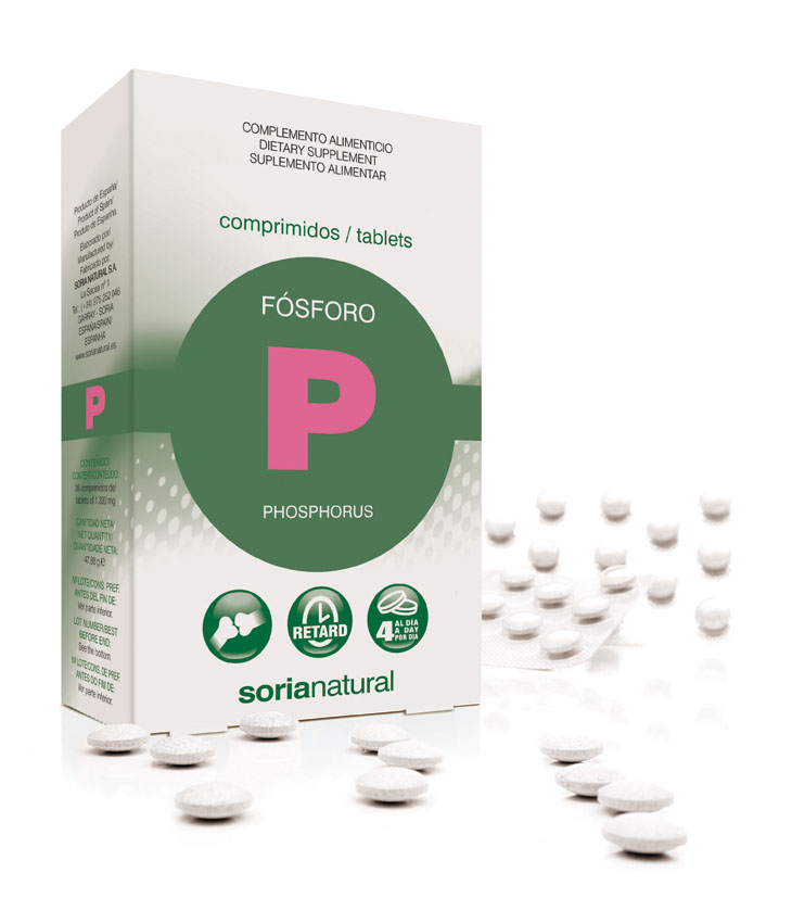 Phosphore retard 116 mg