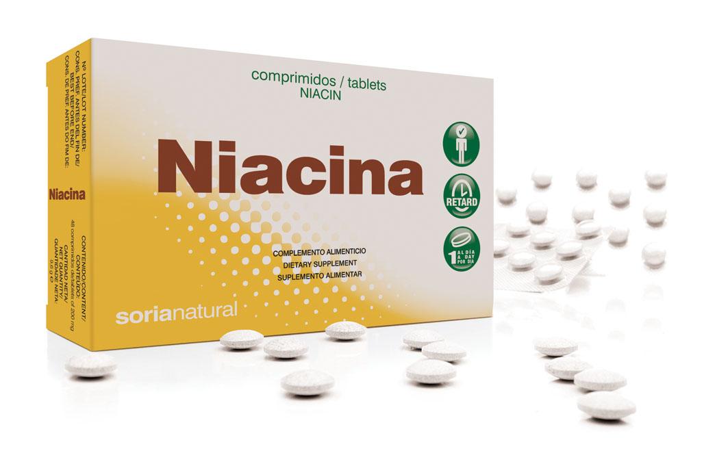 Vitamine B3 retard (niacine)