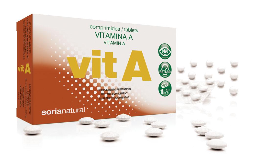 Vitamine A retard