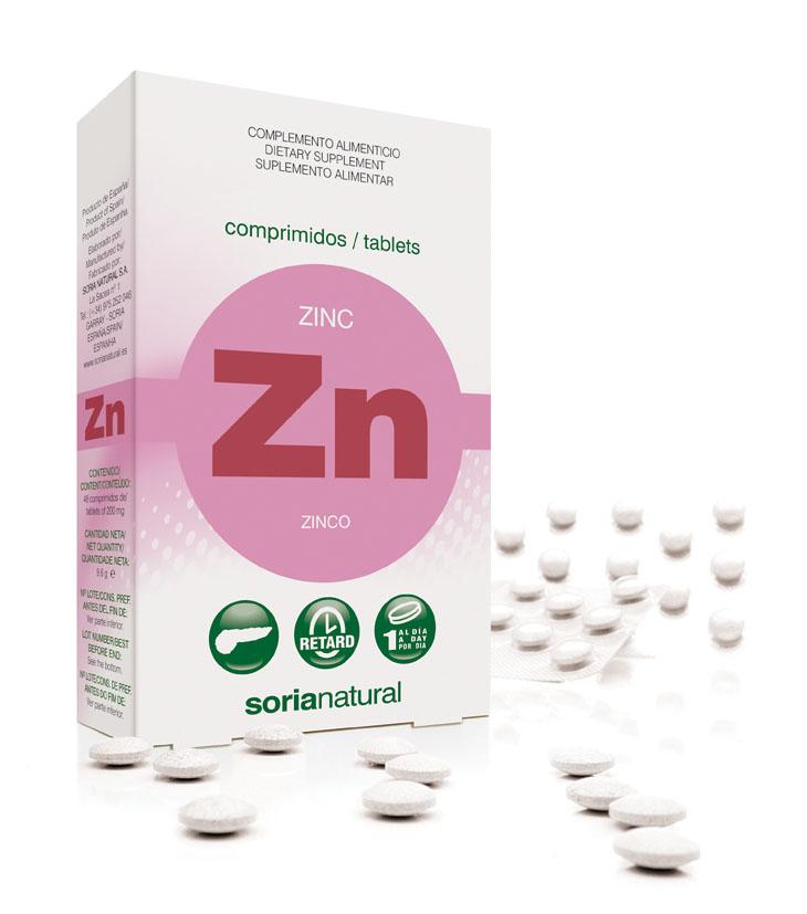 Zinc retard 10 mg
