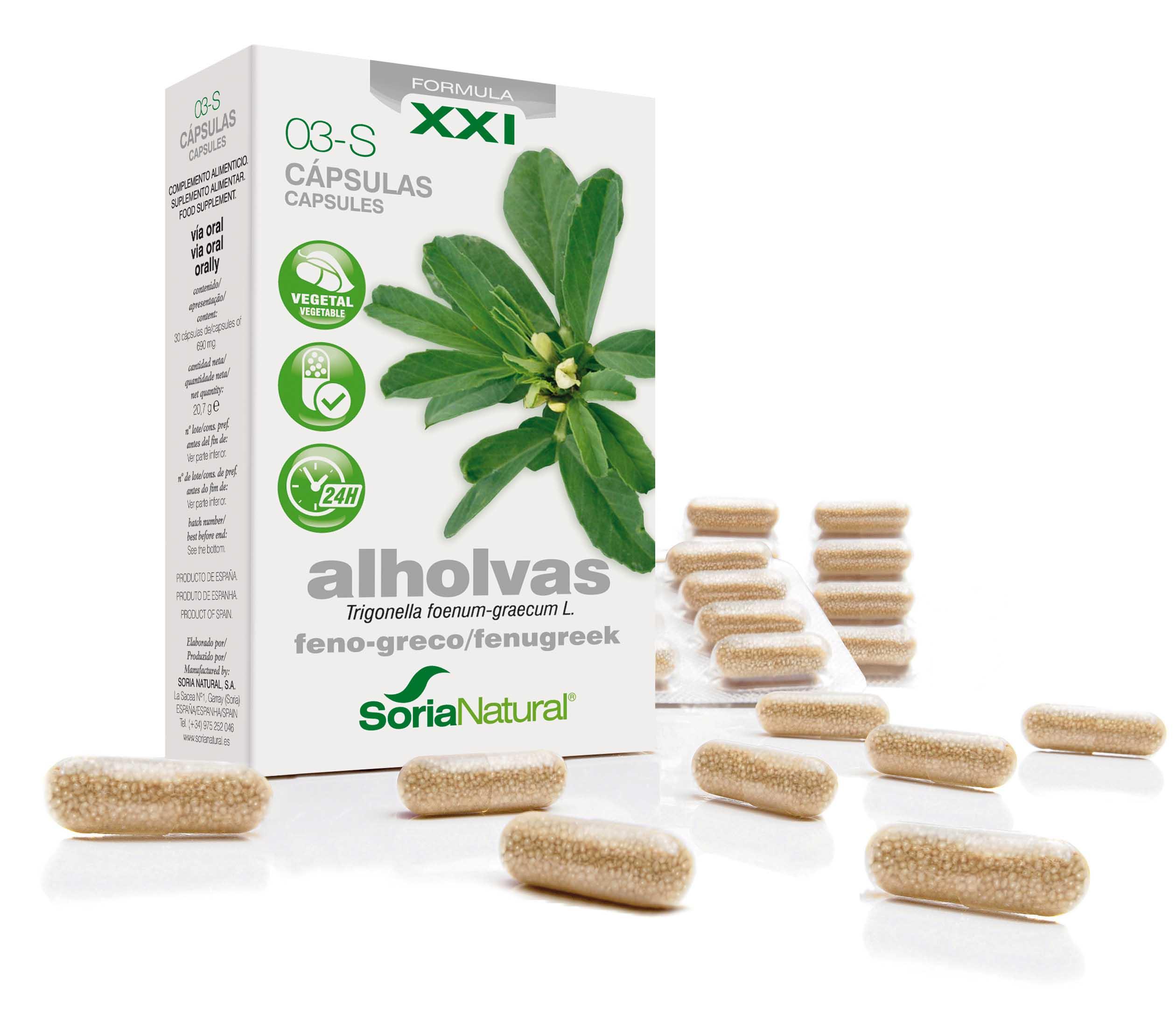 03-S Trigonella XXI: fenegriek 300 mg
