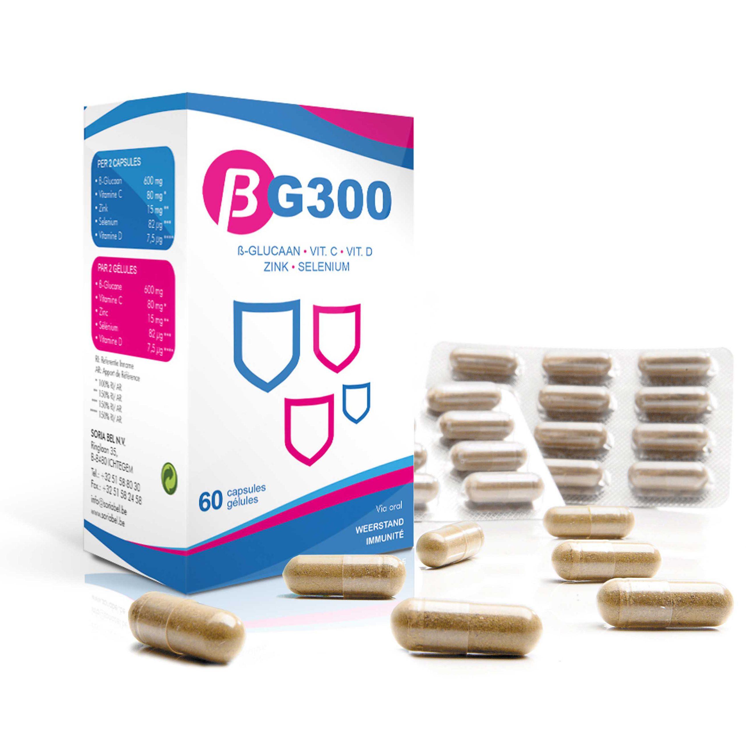 BG300 weerstandscapsules