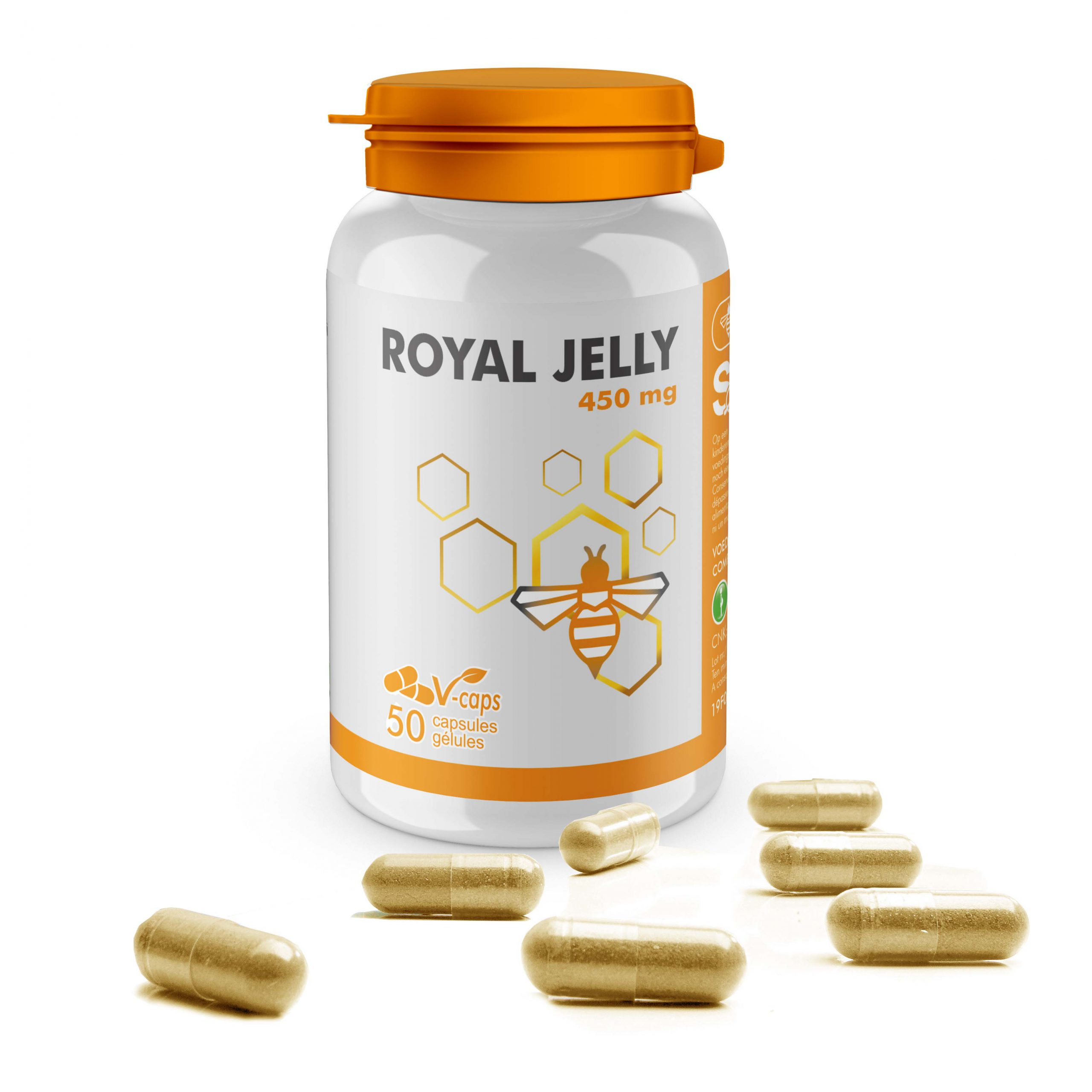 Royal Jelly: gelée royale 450 mg