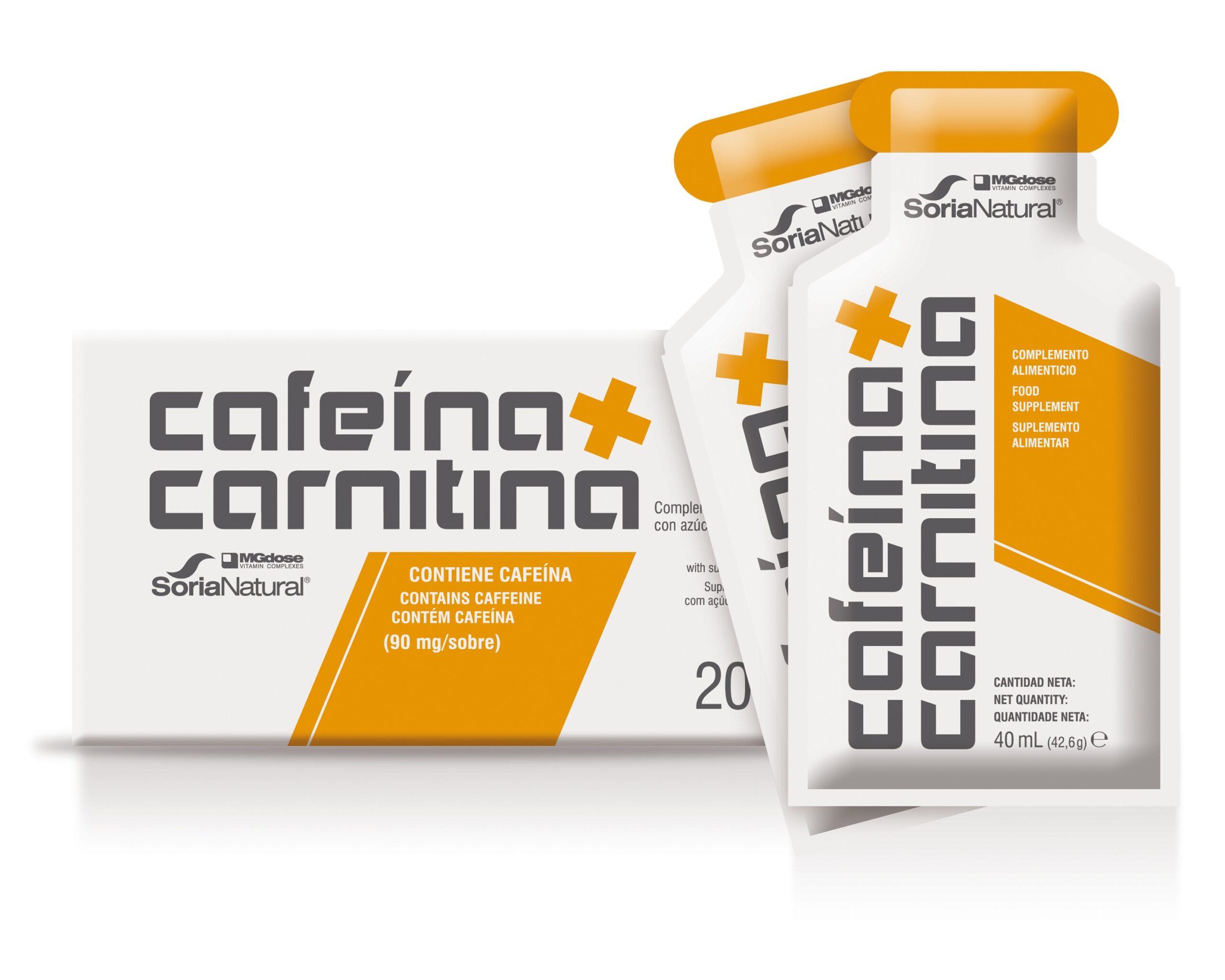 cafeïne + carnitine gel