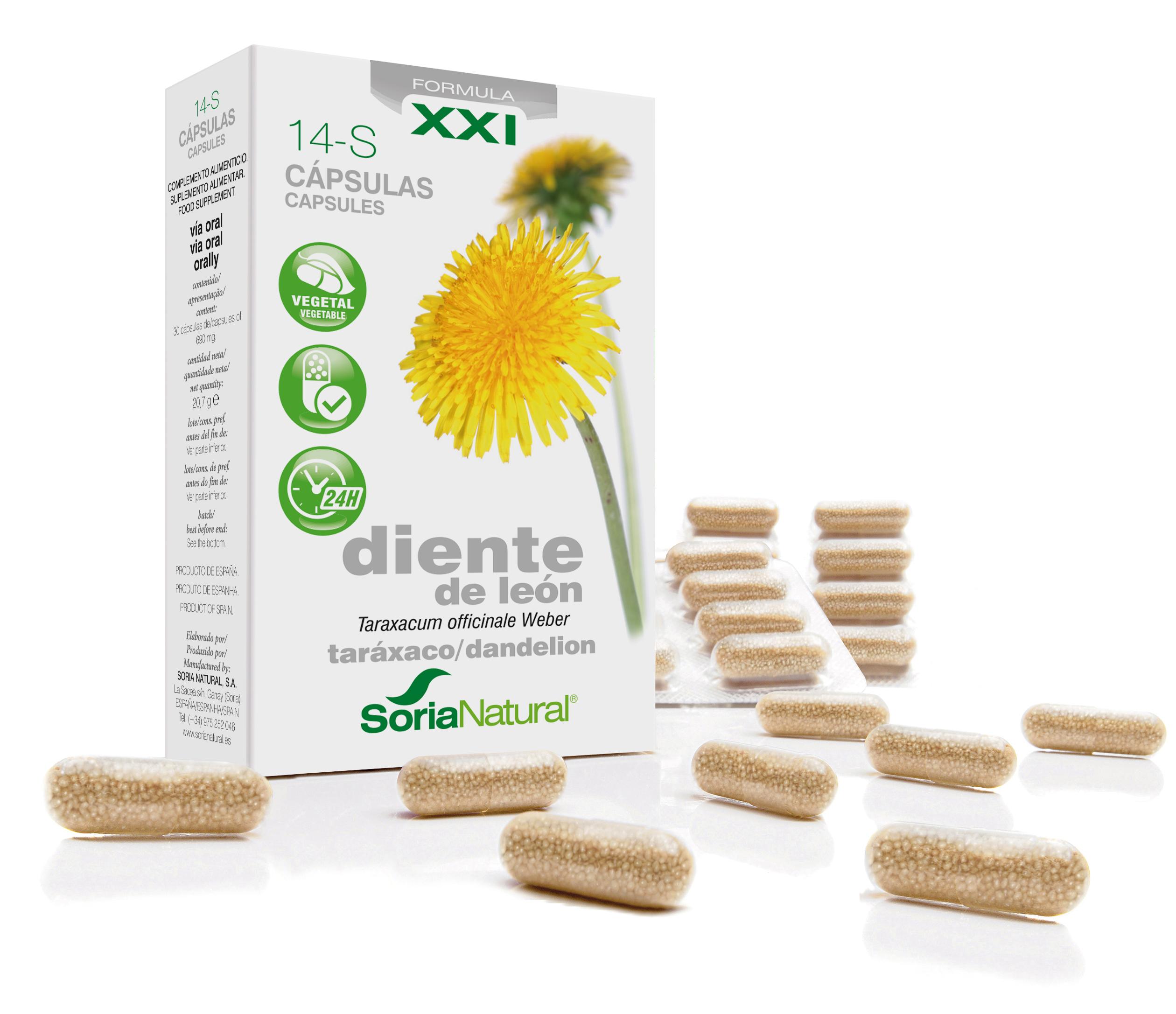 14-S Taraxacum XXI: paardenbloem 300 mg